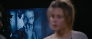 Figur 1 Ansigtsmimikken fra stumfilmen projiceres hen på Adèle.