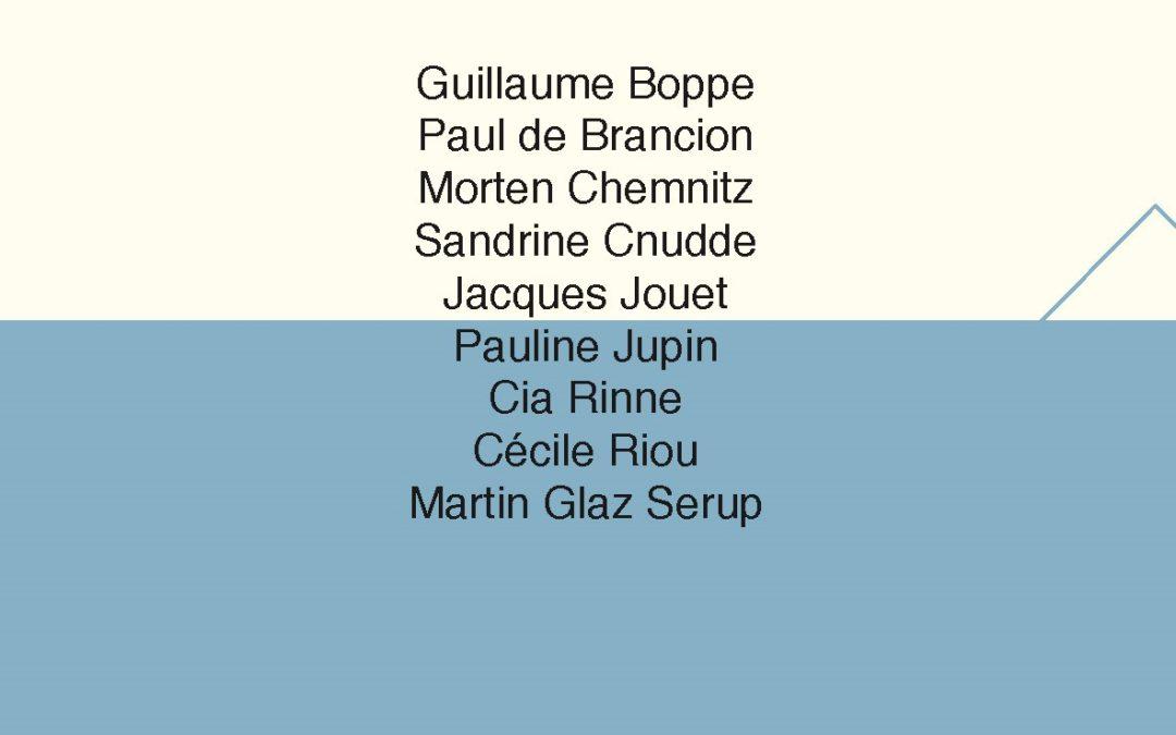 Poetiske rum / Espaces poétiques, SLC-bogudgivelse
